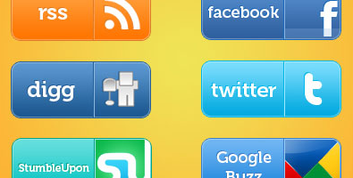 social web buttons Social Media Icons