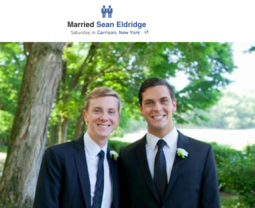 chris hughes sean eldridge facebook Facebook Lets Same Sex Couples Get Married, Introduces new Icon