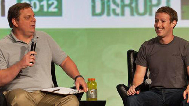 zuckerberg techcrunch disrupt Mark Zuckerberg Speaks At TechCrunch Disrupt   Stock Price Goes Up
