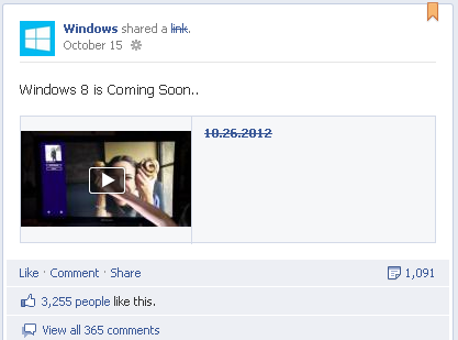 windows Facebook Launches Global Pages with Country Localisation