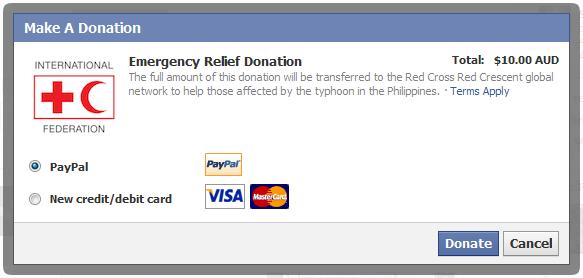 facebookdonateredcrossphillipines