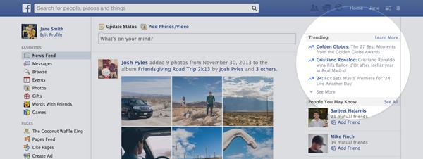 FacebookTrending