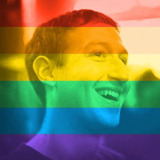 Facebook Shows Their Support For Marriage Equality With Rainbow Profile Pictures