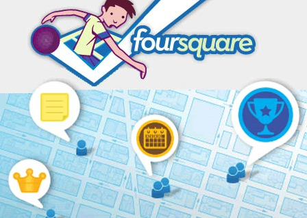 Foursquare growing FAST- 600,000 checkins per day