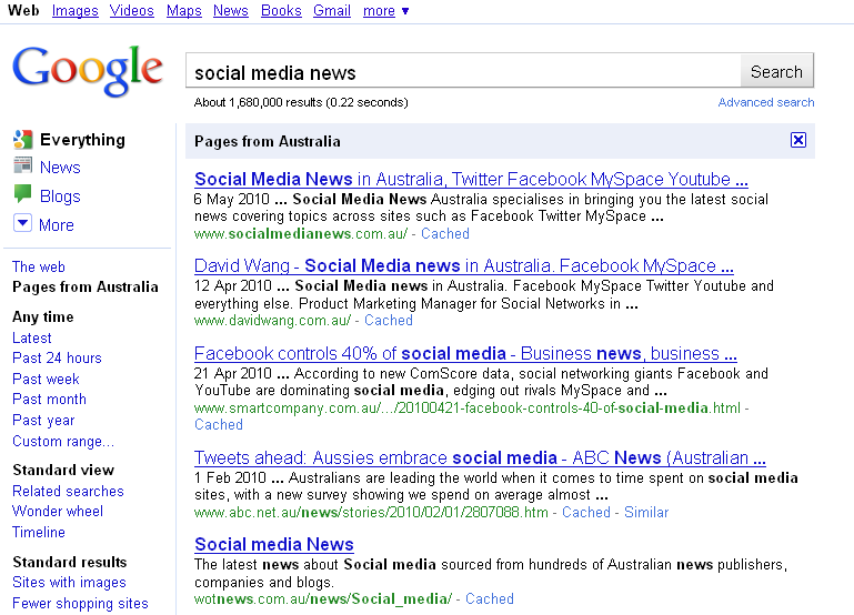 google-social-media-news-australia