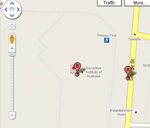 Google Maps Australia