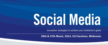 SocialMediaMarketinginTertiaryEducationEventAustralia