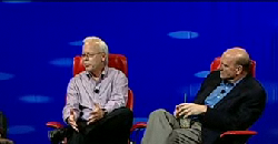 Microsoft's Steve Ballmer and Ray Ozzie on Cloud Computing, D8 conference