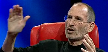 Steve Jobs at D8 Conference, 1 iPad sold every 3 seconds
