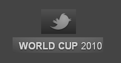 Twitter creates Official World Cup 2010 page