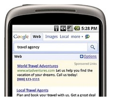 Google Mobile Search and Ads Growing Rapidly in 2010
