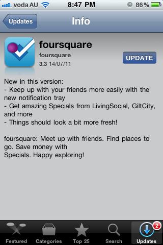 Foursquare LivingSocial