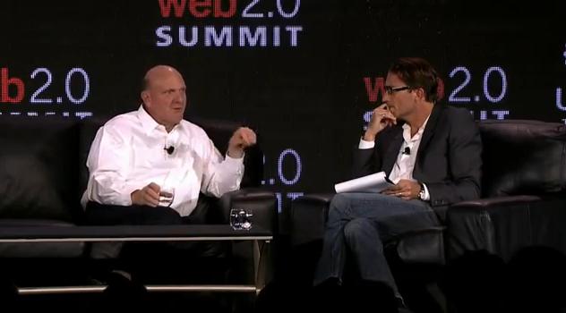 Steve Ballmer at Web Summit 2.0