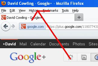 google plus title