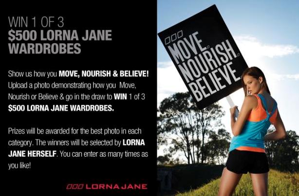 Lorna Jane Social Media